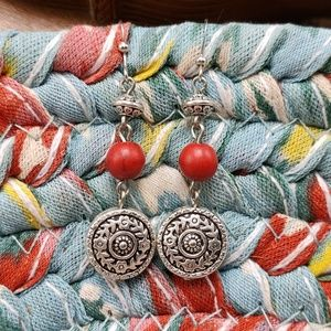 Artisan Gypsy silver southwest turquoise coral red